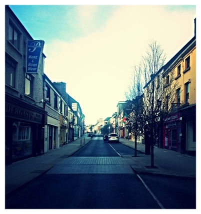 Spring morning - Main Street, Castlebar 2015